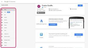 google my business, Prairie Giraffe, Gillette, Wyoming