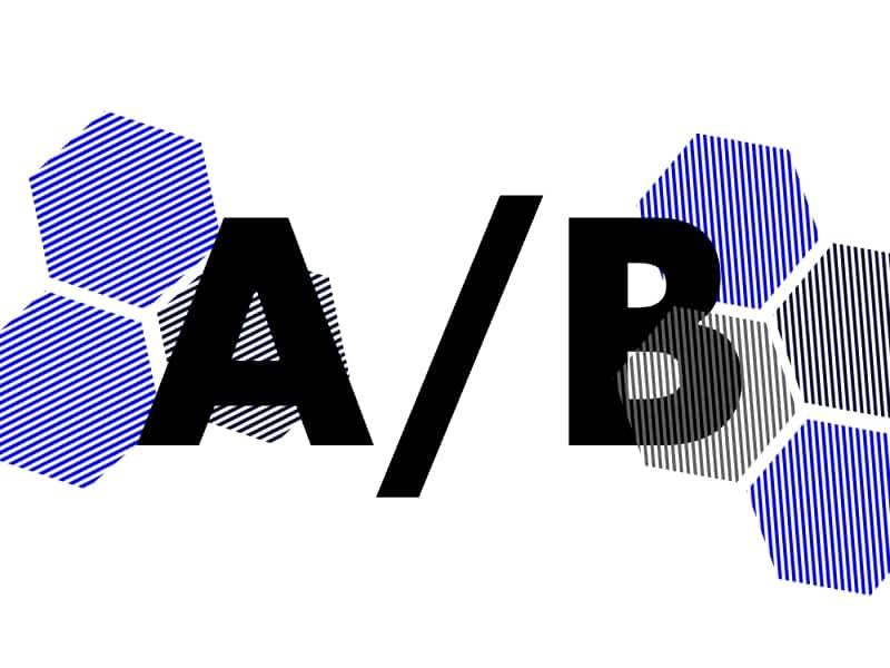 a/b testing image