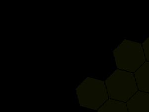 black honeycomb hero background