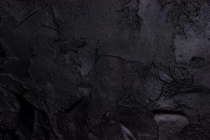 black textured concrete background