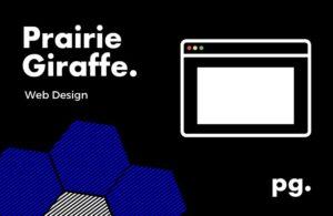 web design and development - prairie giraffe.
