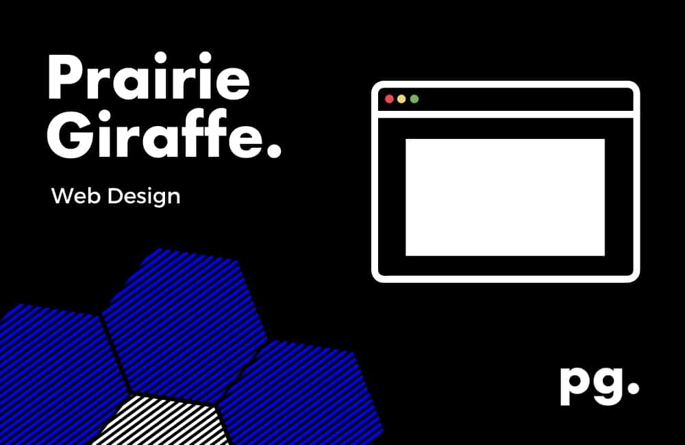 web design and development - prairie giraffe.